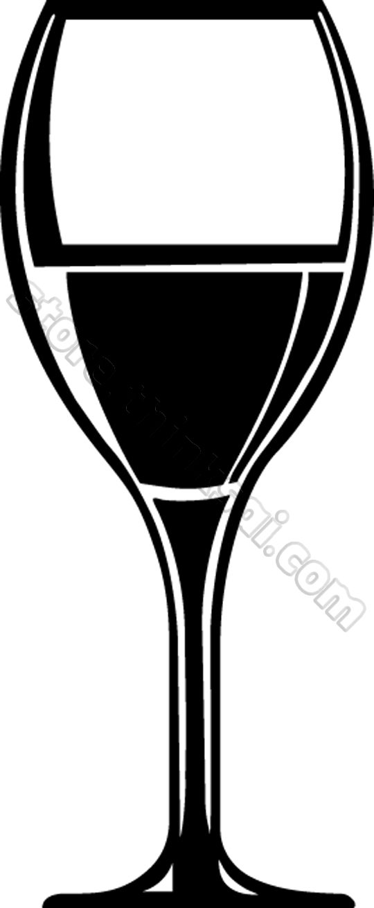 11913 Glass free clipart.