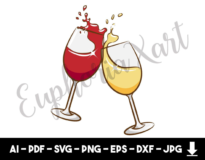 Wine glass svg, wine glass clipart, wine glass cartoon, wine.