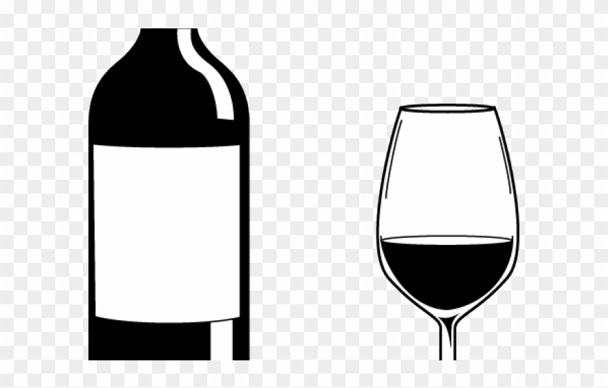 Boose Clipart Wine Glass Outline.