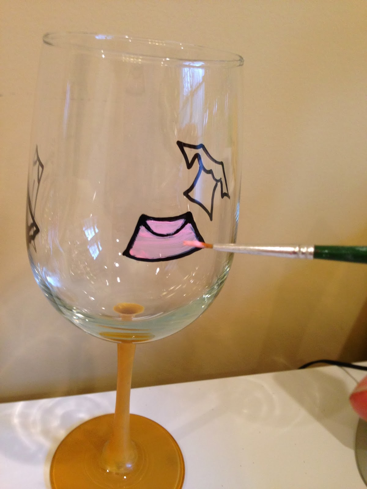 Glass Painting Clipart.