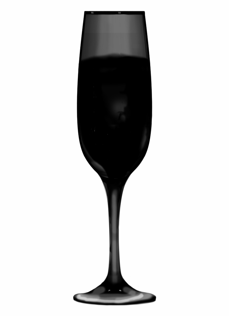 Glass Drink Silhouette.