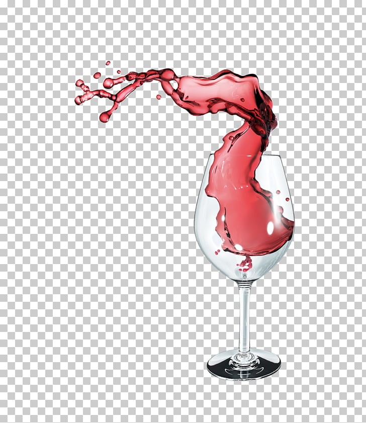 Red Wine Wine glass Computer file, Spilled red wine, clear.