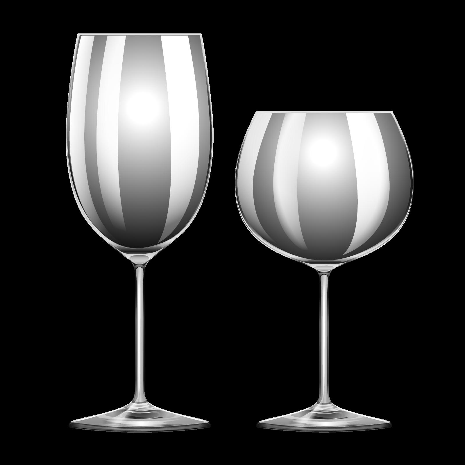 Wine glass Template.