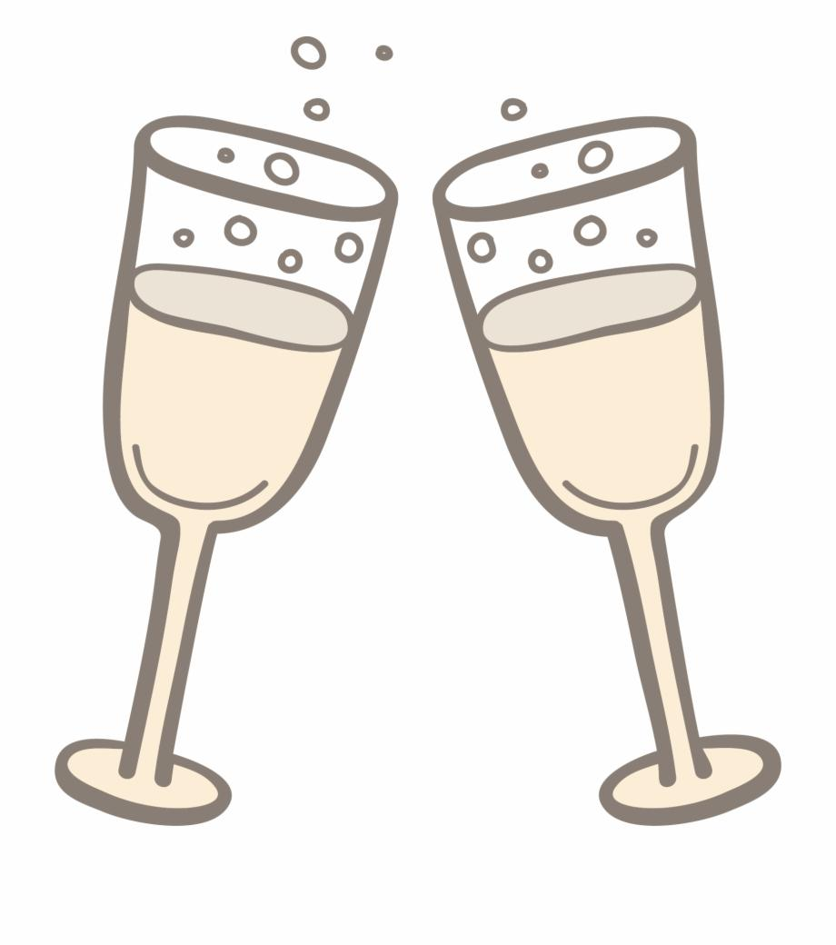 HD Wine Glass Toast Clip Art Design » Free Vector Art, Images.