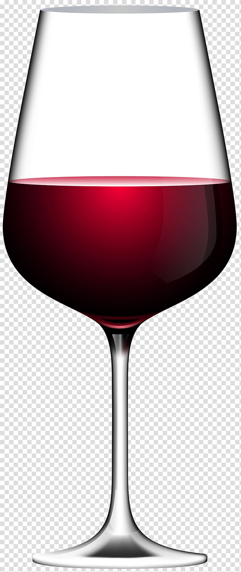 Wine glass illustration, Red Wine Champagne Wine glass , Red.
