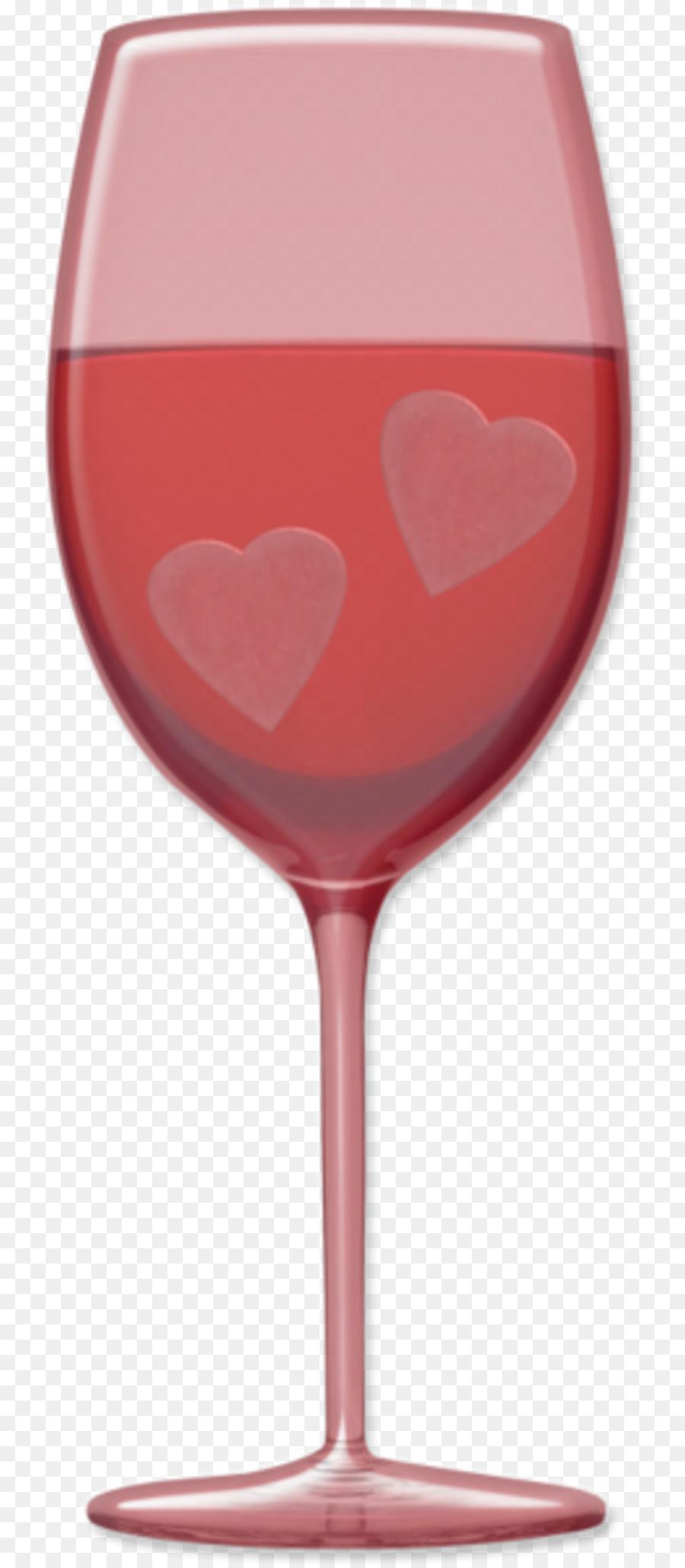 Glass Valentine\'s Day Heart Clip art.