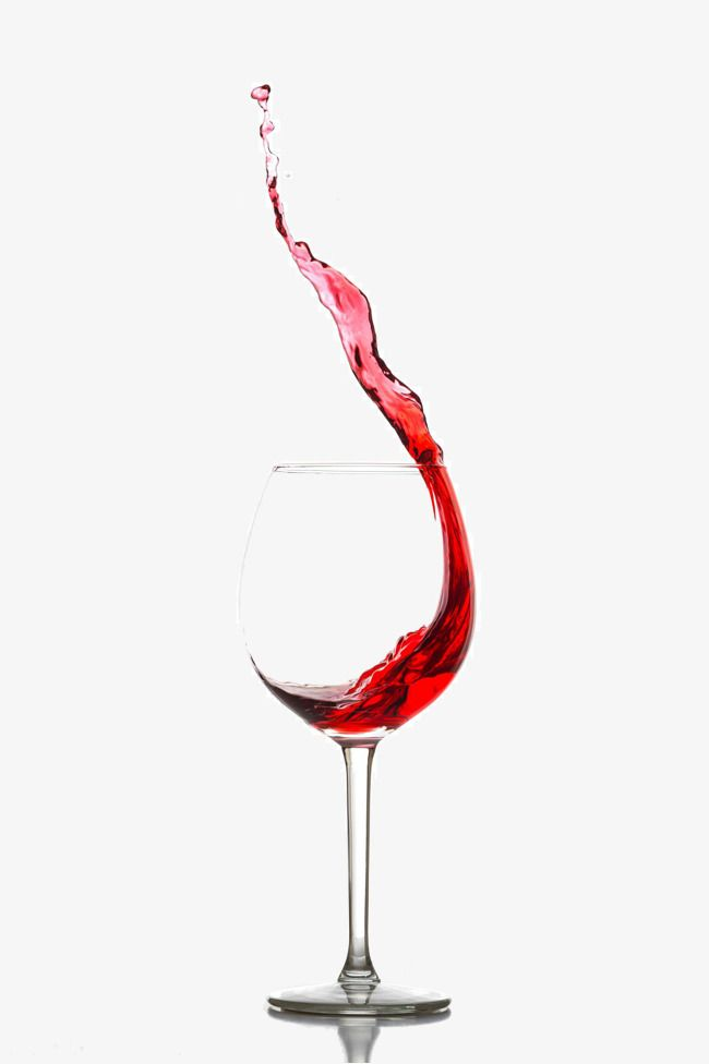 Goblet Splashed With Red Wine in 2019.