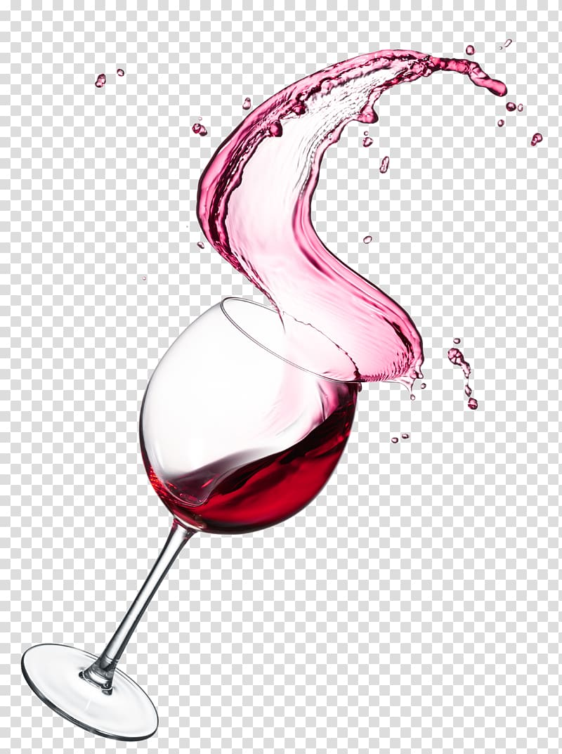 Splash of red wine red wine transparent background PNG.