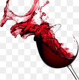 Free Glass Of Red Wine Splash Pull Material, Wine Clipart.