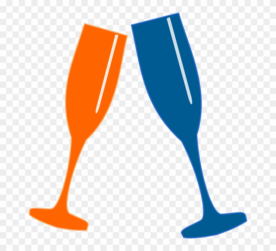 Png Transparent Download Champagne Glasses Clip Art.