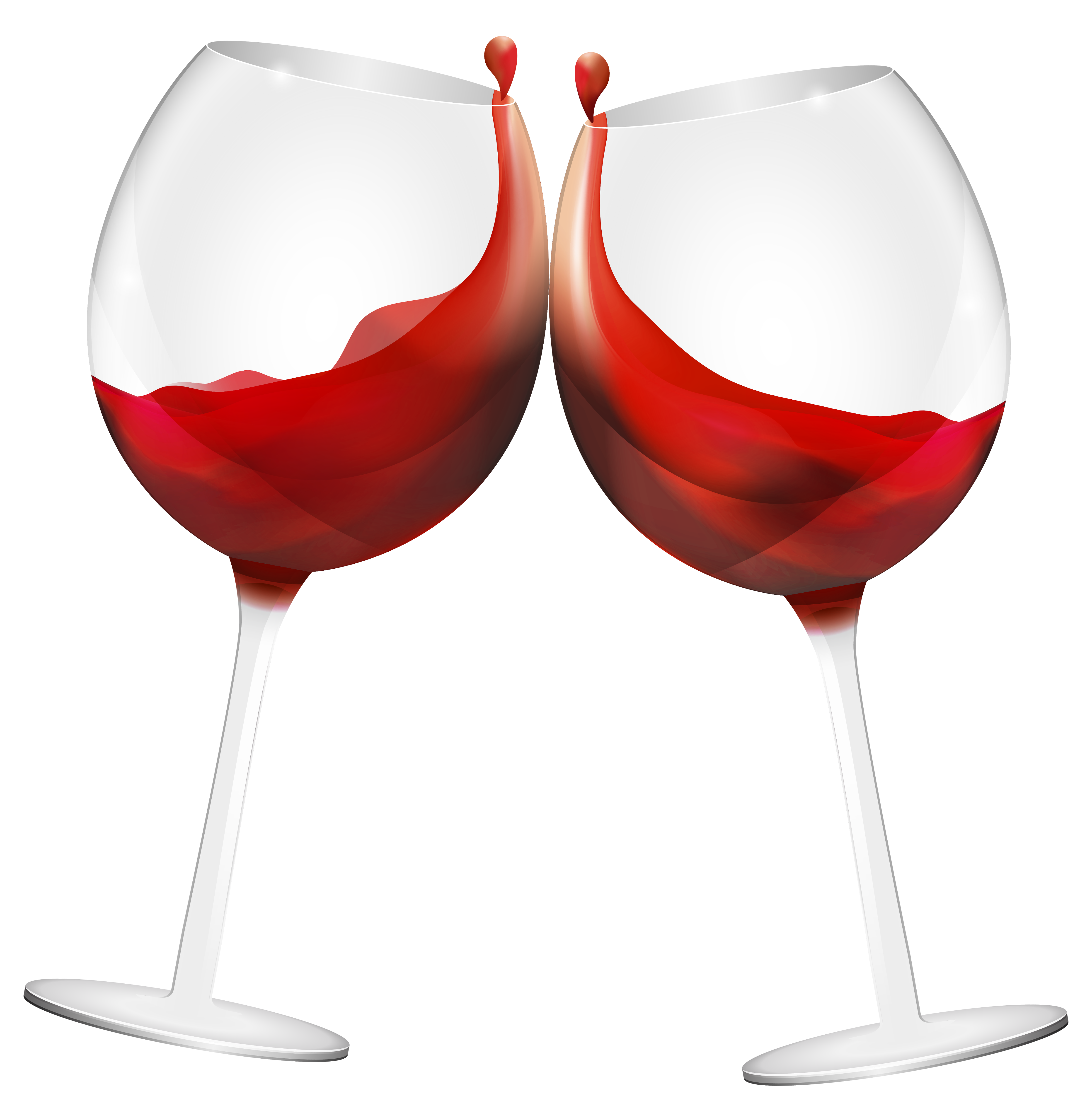 Wine Glasses Clipart.
