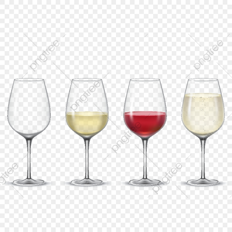 Set Transparent Vector Wine Glasses, Wine, Glass, Red PNG and Vector.