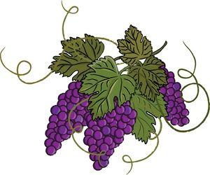 grape clipart free.