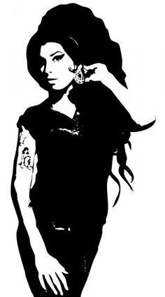 Amy Winehouse Fan Art Drawing.