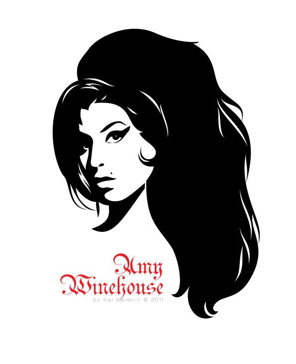 Amy Winehouse Clipart.