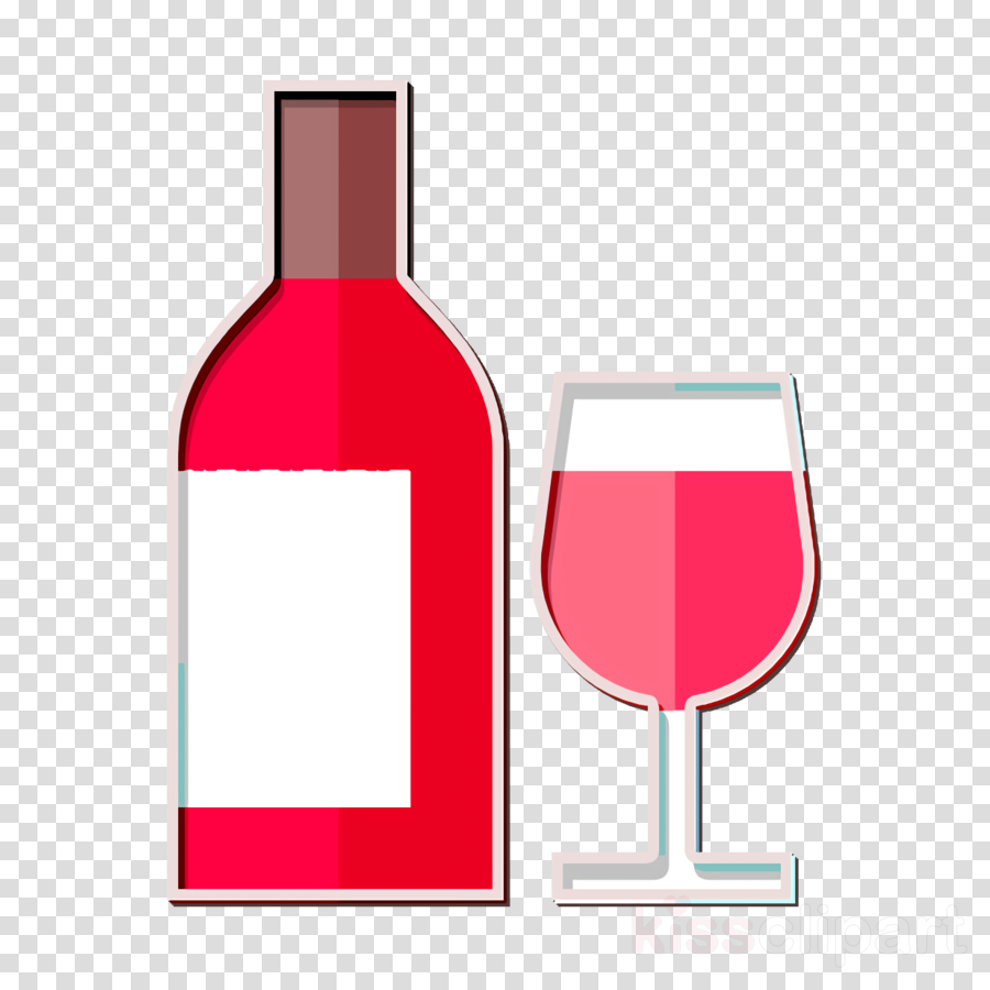 Wine bottle icon Wine icon clipart.