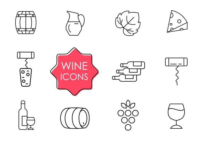 Free Wine Icons.
