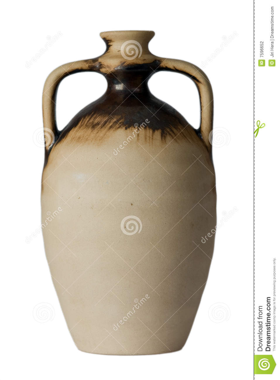 Wine Jug Stock Photography.