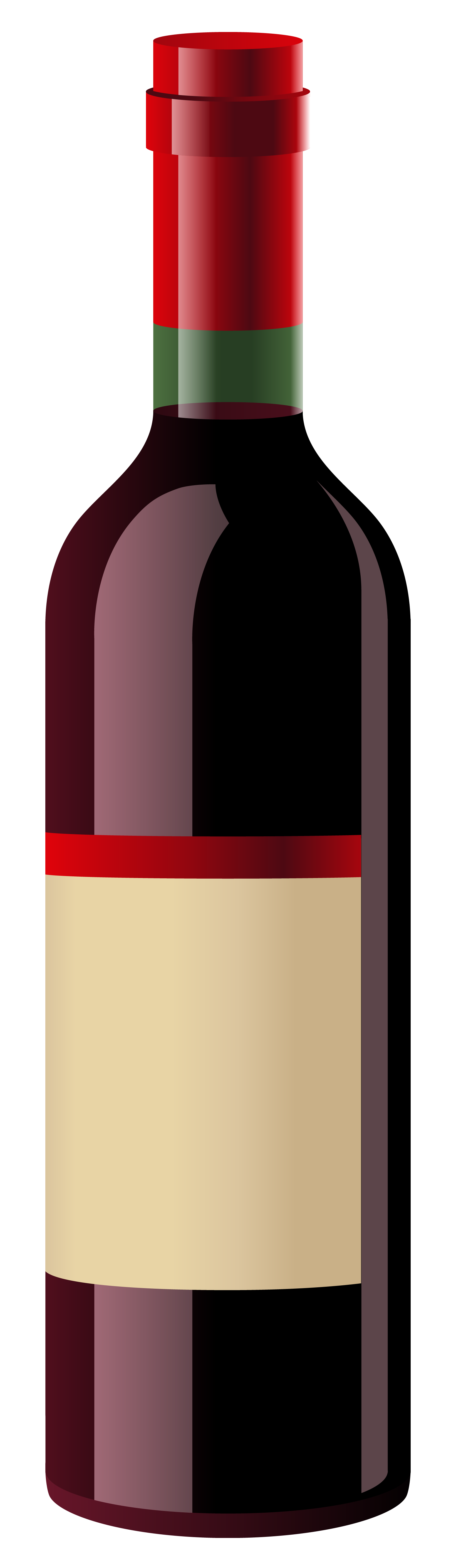 Red Wine Bottle PNG Clipart.