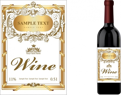 Wine label free vector download (9,108 Free vector) for.
