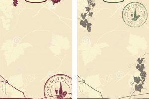 Free wine label clipart 5 » Clipart Portal.