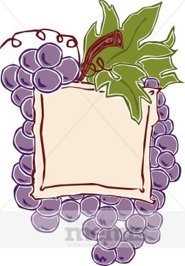 Wine Label Clipart.