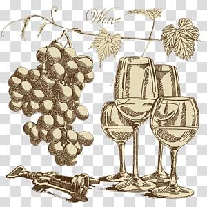 Red Wine Common Grape Vine Wine press , bottle opener.