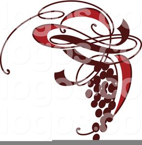 Wine Logo Clipart.
