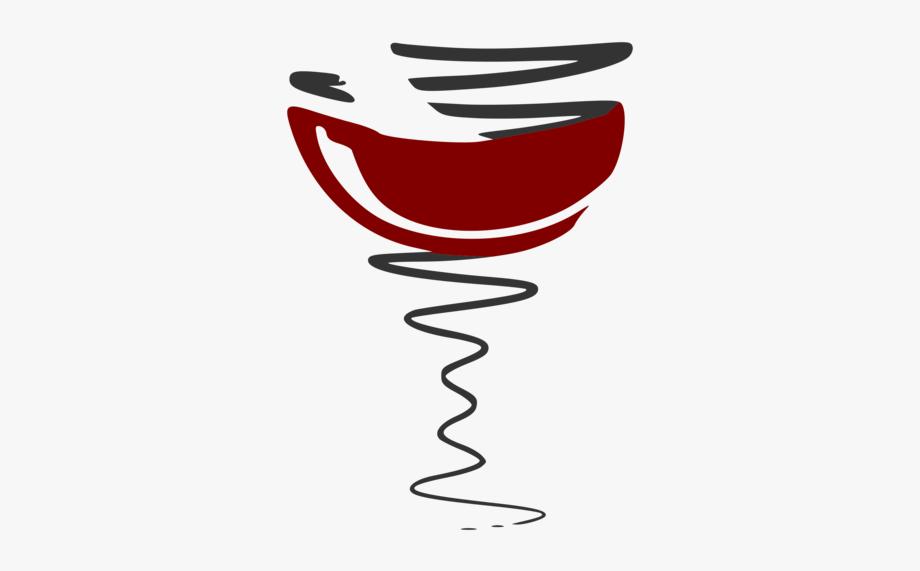 Temporary Wine Common Grape Vine Logo Brand Vignette.
