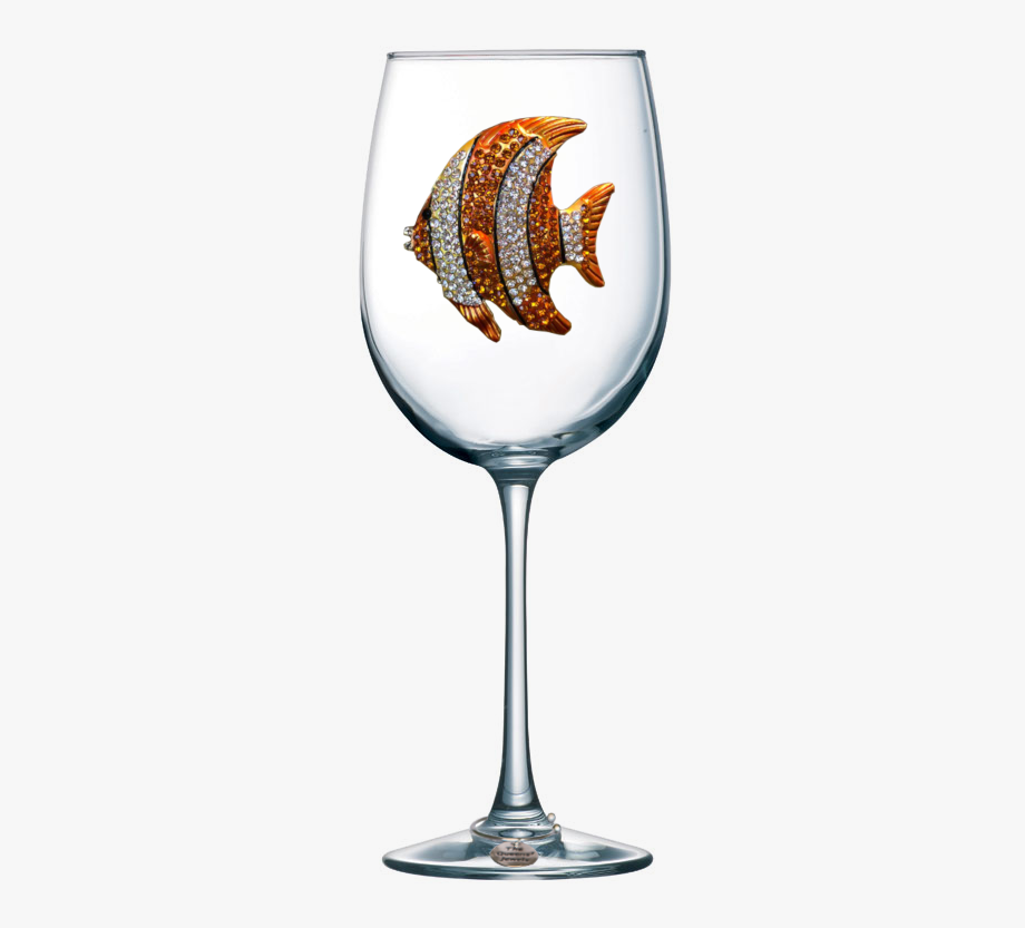 Gold Wine Glass Png.