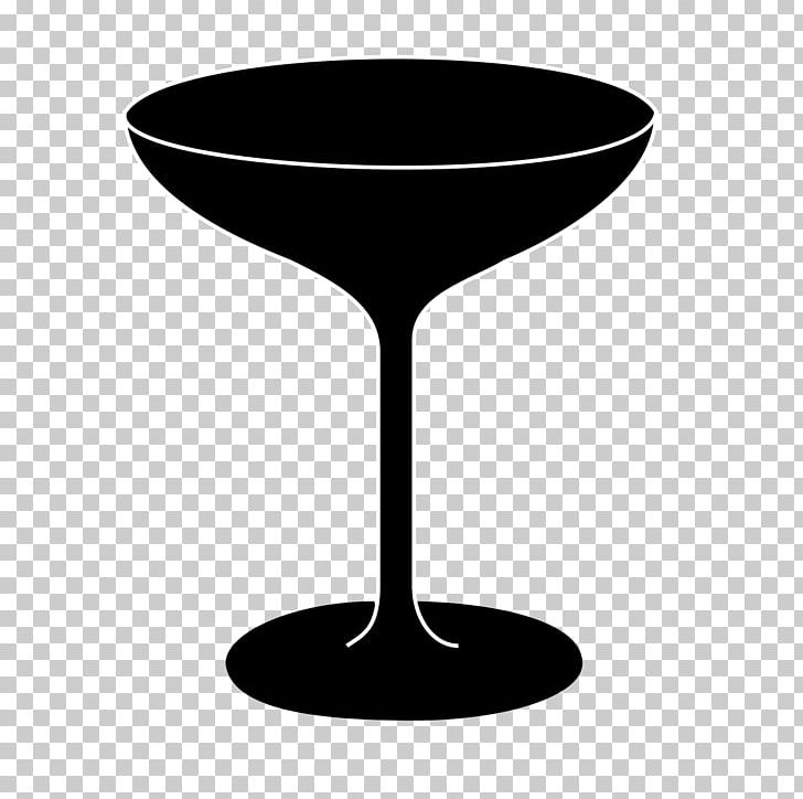 Wine Glass Martini Cocktail Champagne Glass Table PNG.