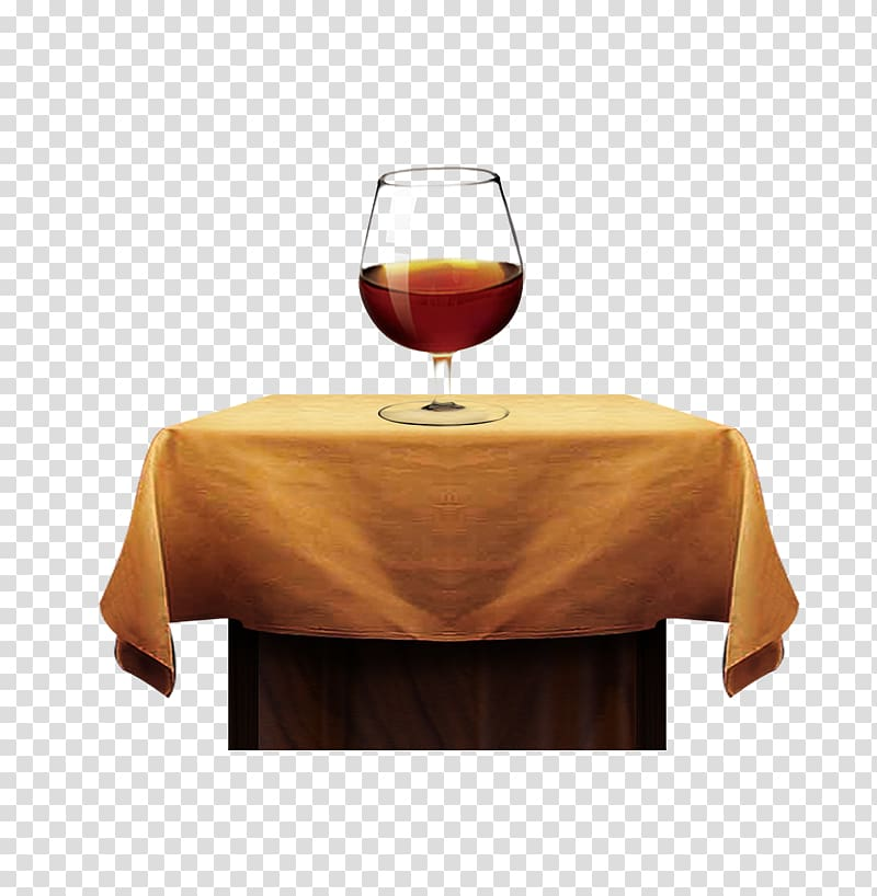 Red Wine Table, Red wine estate on the table transparent.