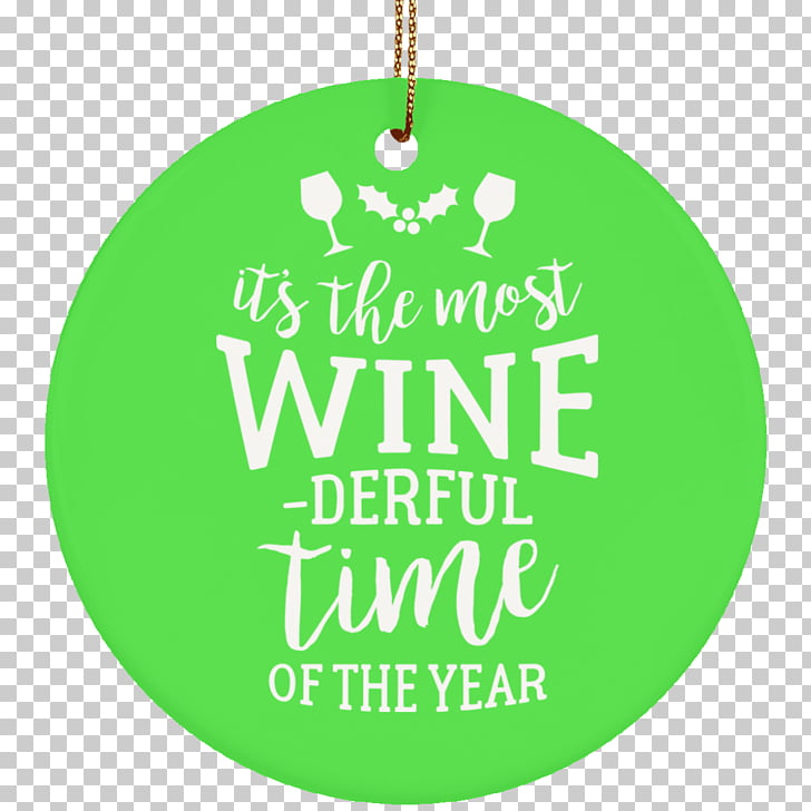 Wine New Jersey Christmas ornament Ceramic Quotation.