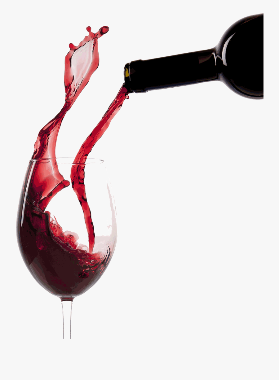 Pouring Red Wine Glass Clip Arts.