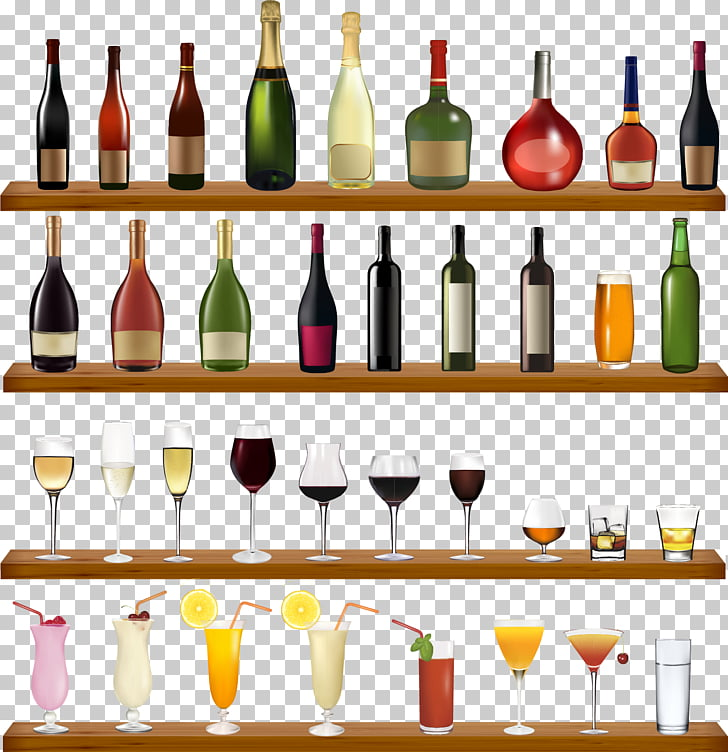 Distilled beverage Beer Bottle Drink, wine rack PNG clipart.