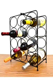 Wine Rack 12 Bottle Clip Art.