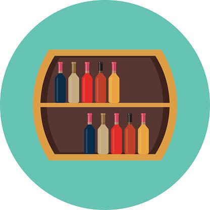 Wine Rack Clip Art, Vector Images & Illustrations.