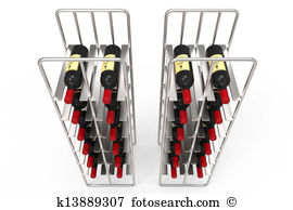 Wine rack Illustrations and Clip Art. 50 wine rack royalty free.