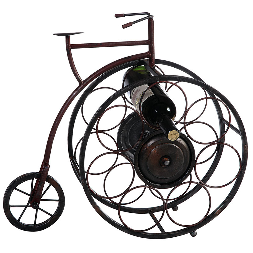 Penny Farthing Bicycle Wine Rack.