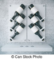 Wine rack Clipart and Stock Illustrations. 151 Wine rack vector.