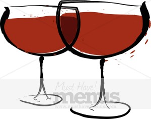Table Wine Clipart.