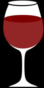 Glass Of Wine Clip Art.