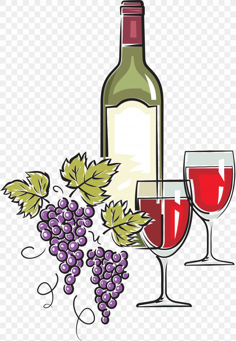 Red Wine White Wine Bottle Clip Art, PNG, 3971x5736px, Red.