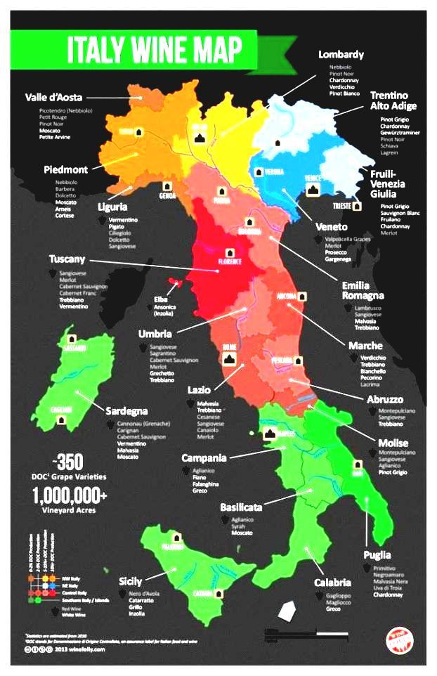 Beef Of Wine Life Always The Party Region Climate Map Stew Italy.