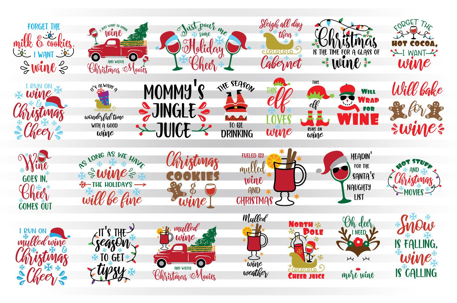 Christmas wine svg bundle, Christmas wine glass svg, Christmas wine svg,  wine sayings svg, wine quotes svg, wine clipart svg, mulled wine.