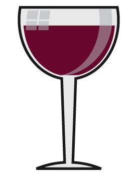 Clip Art Wine Glass.
