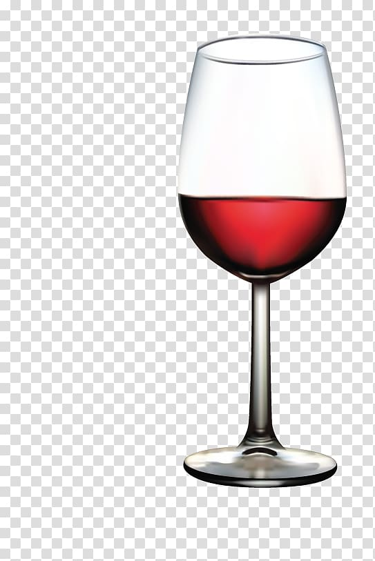 Red Wine Wine glass, red wine glass transparent background.