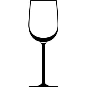 Free wine glass clip art.