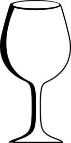 Empty Wine Glass Clip Art at Clker.com.