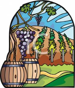 Winery clipart #19